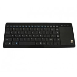 TECLADO WIRELESS APPROX SMARTV NEGRO CONT TOUCHPAD