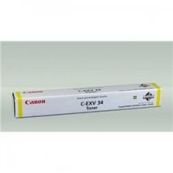 Toner Original  Canon EXV34 de color Amarillo
