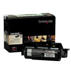 Toner Original  Lexmark T640 de color Negro