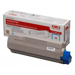 Toner Original OKI  C5650C de color CYAN