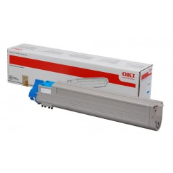 Toner Original OKI C9655C color CYAN