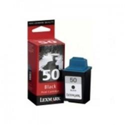 Cartucho tinta original Lexmark  50 Inkjet Negro