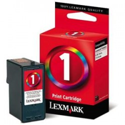 Cartucho tinta original Lexmark 1inkjet Color