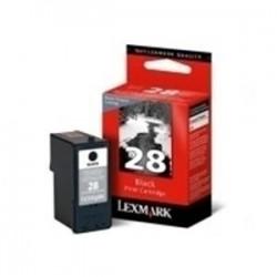 Cartucho tinta original Lexmark 28 Inkjet Negro