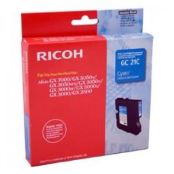 Cartucho Gel original Ricoh GC21C CYAN