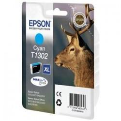 Cartucho tinta original Epson T1302 Inkjet de color CYAN