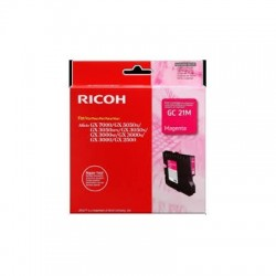 Cartucho Gel original Ricoh GC21 magenta