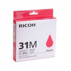 Cartucho Gel original Ricoh GC31 Magenta