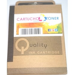 Cartucho Tinta Compatible HP 62 XL  Inkjet de color 3C