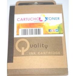Cartucho Tinta Compatible HP 62XL Inkjet de color Negro
