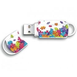 MEMORIA USB 2.0   8GB INTEGRALPUZZLE XPRESSION