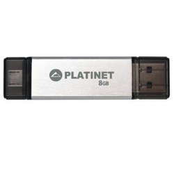 MEMORIA USB 2.0   8GB MICRO-USB PLATINET