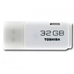 MEMORIA USB 2.0  32GB TOSHIBA BLANCO