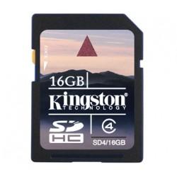 MEMORIA DG 16GB KINGSTON SD    CLASE 4