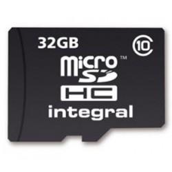 MEMORIA DG 32GB INTEGRAL MSD/SD CLASE 10